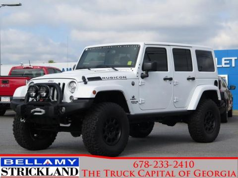 Pre-Owned 2017 Jeep Wrangler Unlimited Rubicon Four Wheel Drive Rubicon 4x4