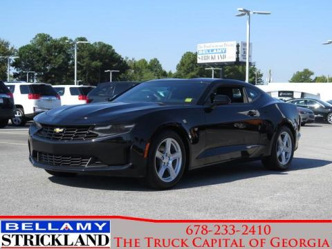 Pre-Owned 2019 Chevrolet Camaro LT RWD 2dr Car