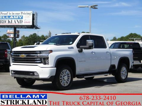 New 2020 Chevrolet Silverado 2500HD High Country 4WD Crew Cab Pickup
