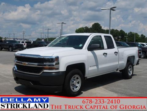 New 2018 Chevrolet Silverado 1500 Rear Wheel Drive Extended Cab Pickup