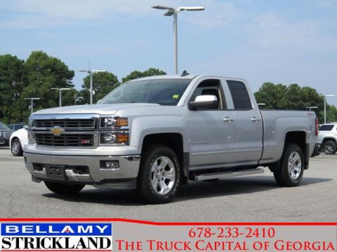 Pre-Owned 2015 Chevrolet Silverado 1500 LT 4WD Extended Cab Pickup