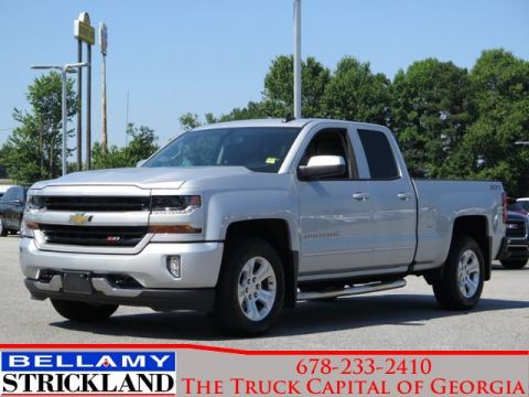 Pre-Owned 2017 Chevrolet Silverado 1500 LT Four Wheel Drive 4WD Double Cab 143.5 L