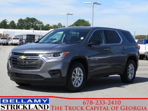 New 2020 Chevrolet Traverse LS FWD Sport Utility