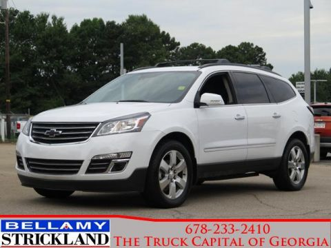 Pre-Owned 2016 Chevrolet Traverse LTZ Front Wheel Drive FWD 4dr LTZ