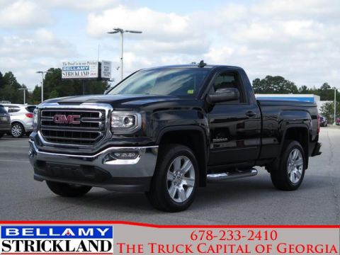 Pre-Owned 2017 GMC Sierra 1500 SLE Rear Wheel Drive 2WD Reg Cab 119.0 SLE