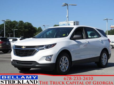 Pre-Owned 2018 Chevrolet Equinox LS Front Wheel Drive FWD 4dr LS w/1LS