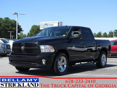 Pre-Owned 2016 Ram 1500 Express Rear Wheel Drive 2WD Crew Cab 140.5 Exp