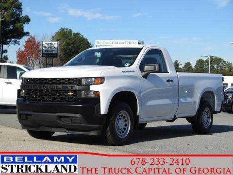 New 2020 Chevrolet Silverado 1500 Work Truck