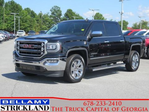 Pre-Owned 2016 GMC Sierra 1500 SLT Rear Wheel Drive 2WD Crew Cab 143.5 SLT
